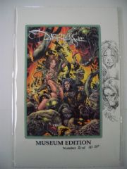 The Darkness Prelude Museum Edition Sketch Premium Witchblade COA Ltd 10 Jay Company Comics
